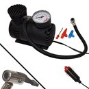 12V KFZ-Mini-Kompressor +Manometer+Hebelstecker+Adapter...